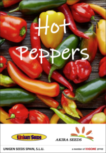 hot peppers catalogue